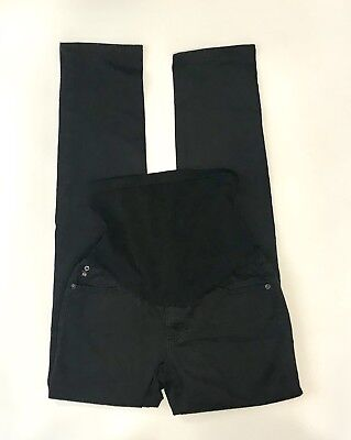 AG Adriano Goldschmied Maternity Black Secret Fit Belly Jegging Jeans Size 29