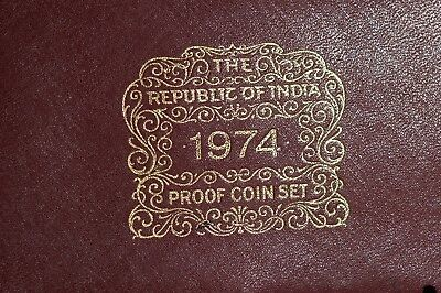 1974 Republic of India Proof Coins Set