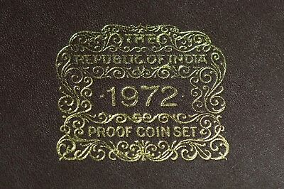 1972 Republic of India Proof Coins Set