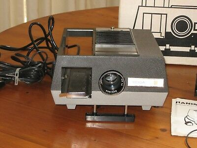Retro Slide Projector. Hanimex Rondette  35 mm Color Projector