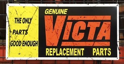 Victa Old Advertising Sign