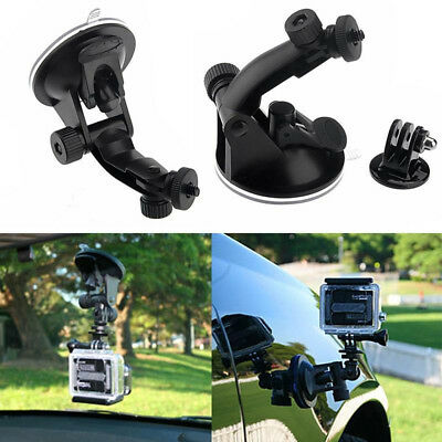 Suction Cup Mount with Tripod Adapter for Gopro Hero 3+ 3/2/1 Camera Accessories