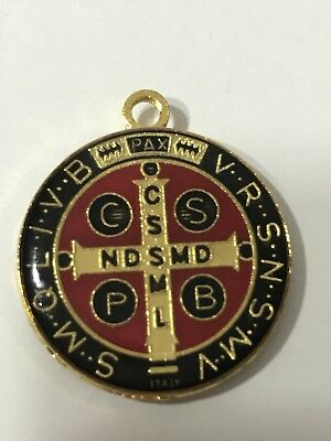 NEW St. Benedict Medal Protection from Evil Inserts Symbol meanings included