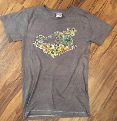 Vtg Original Harley Davidson 1978 Roach Biker Shirt Medium Single Stitch THIN