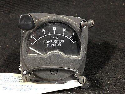 Combustion Monitor - Weston Instruments Part #1731 (Alt Part #248623) - Aviation