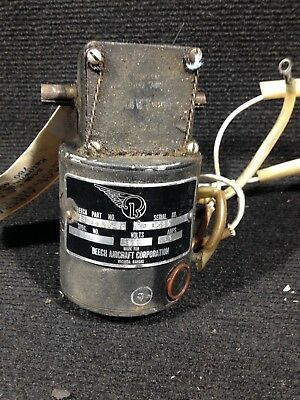 Flap Motor - Beech Aircraft Corp. Part #35-364151-55 - Aviation Flight Control