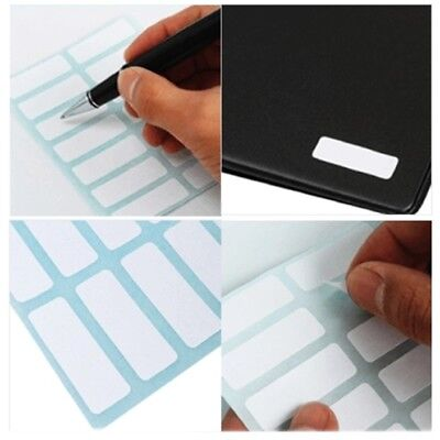 12 Sheets/168 Labels SCHOOL KITCHEN HOME OFFICE Sticky Self Adhesive 13x38mm