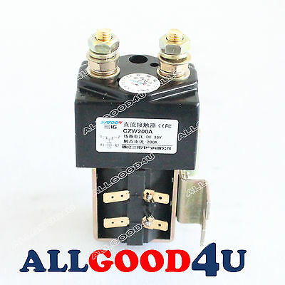 SW180 Heavy Duty Contactor for Albright electric forklift 36V 200A