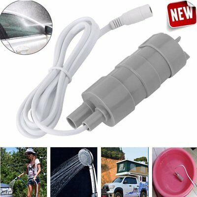 Solar Brushless Magnetic Submersible Water Pump DC 12V 5M 900L/H Fish Pond QR