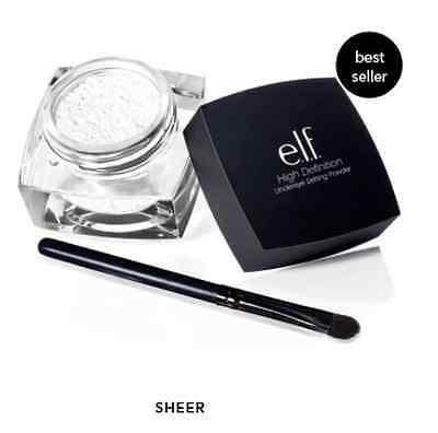 E.L.F. ELF High Definition Undereye Setting Powder with brush! 100% Authentic!