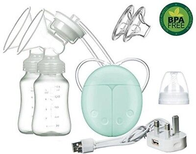 Electric Breast Pump Dual Expression Automatic Massage For Postpartum Baby New