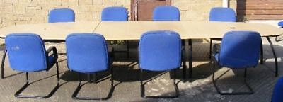 Office Furniture Boardroom Table with 12 Chairs