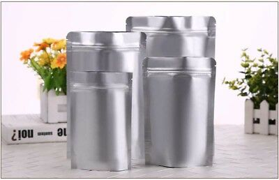 Heat Seal Aluminium Foil Stand Up Bags Pouches Sachets Zip Lock Bag - Food Grade