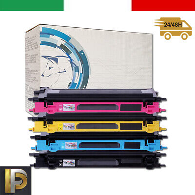 4 Toner per Brother HL4040 DCP9040 MFC9440CN MFC 9840CDW DCP 9045 TN135 K C M Y