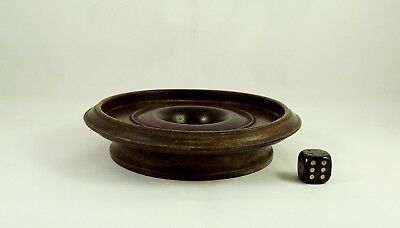 Antique Chinese Hard Wood Ring Form Stand 12cm circa 1900