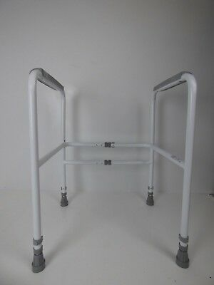 Nrs Care M00870 Free Standing Toilet Frame - Width  Height Adjustable EXDISPLAY
