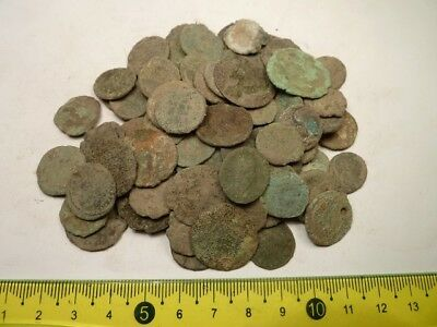 2888	Lot of 35 Roman copper coins, uncleaned