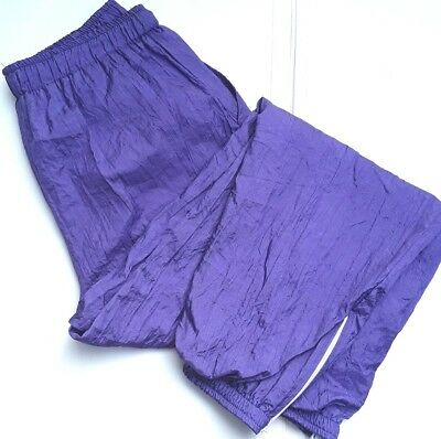 Jamico Parachute Pants Tracksuit trousers Womans size XL Purple Vintage 1990s