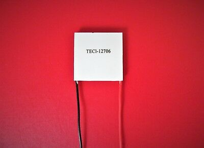 TEC 90W 400W Thermoelectric Cooler Peltier Plate 12V - 15.2V 91.2W / 57.2W UK +