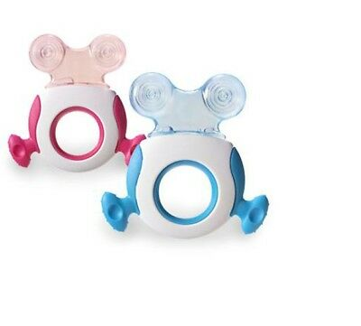 Tommee Tippee Closer to Nature Teether Stage 2 GIRLS PINK