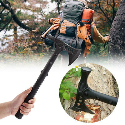 Black Stainless Steel Hammer Axe Sturdy Practical Durable Tactical Package