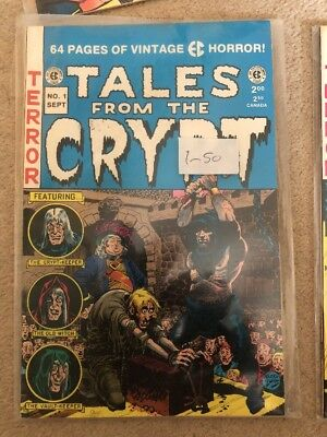 Tales From The Crypt 1-3 E C Comics 1991