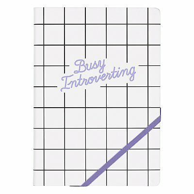 "Sì studio ""Busy Introverting A5 notebook"