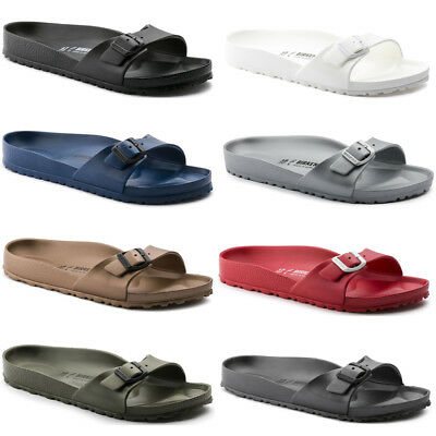 c69ad2fb6598 Birkenstock Madrid EVA Single Strap Slides Sandals Womens Mens Unisex Shoes