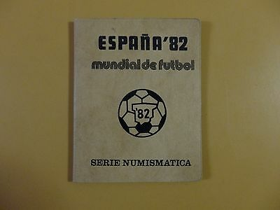 1982 FIFA Soccer World Cup Coin Set 1980 (*81) Spain Espana Mundial de Futbol
