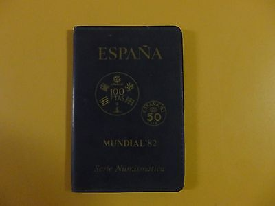 Espana Mundial 82 Numismatica 1982 (*80) World Cup Spain Coin Set