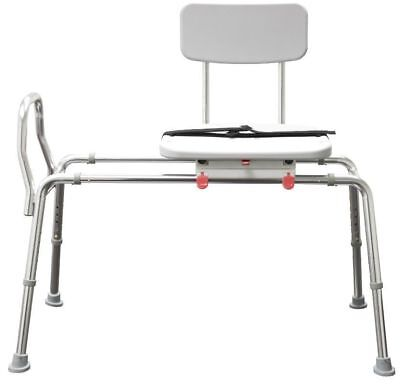 Sliding Transfer Bench 77211 with Seat Bath Safety Shower Chair