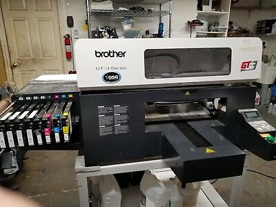 Brother GT 381 - Direct to Garment Printer with Industrial Pretreat