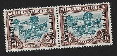 British South Africa 1946 Official Mint OG NH Guaranteed Genuine - Low Start