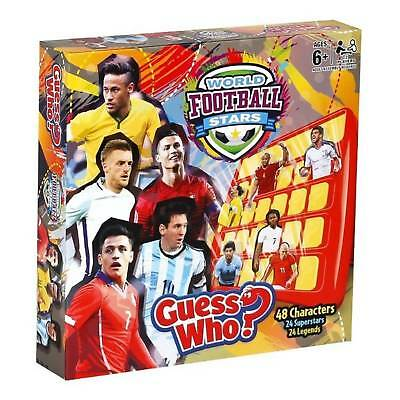 Guess Who World Football Stars Edition Board Game by Winning Moves