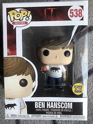 Funko Pop • BEN HANSCOM #538 aus Stephen Kings ES IT • Sofort Lieferbar