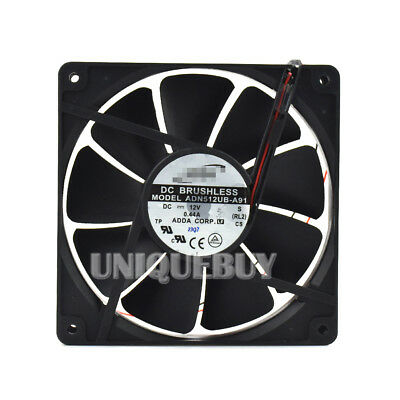 For ADDA ADN512UB-A90 A91 135*135*25mm 12V 0.44A Double ball chassis cooling fan