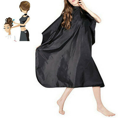 Hair Cutting Cape Pro Salon Hairdressing Hairdresser Gown Barber Cloth Fast US