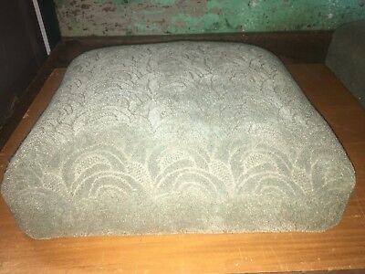 """Vintage High End Upholstered 18""""!x16"""" Theatre Seat Cushions For Repurpose"""