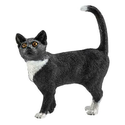 Schleich Farm Life Cat Standing, Tomcat, House Pet, Action Figure, 6 cm, 13770