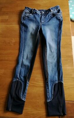 EQUILIBRE Jeans-Reithose Gr. 164 vollbesatz
