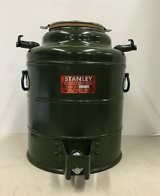 Vintage Rare Stanley Model 3312 Insulated Stainless Steel Cooler Jug Water