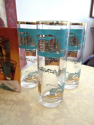Southern Comfort (3) Steamboat Long Drink Glasses