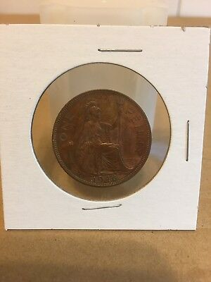 1946 British Bronze Penny - King George VI - Lot 7281