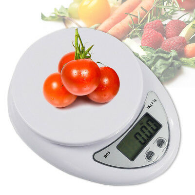 Digital Kitchen Food Cooking Scale Weigh in Pounds, Grams, Tael, and Ounces