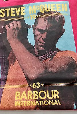 Barbour International Steve McQueen T-Shirt Red XL NWT