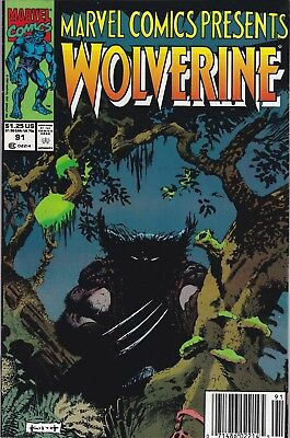 Marvel Comics Presents Wolverine #91 1991  ***combined Ship Available
