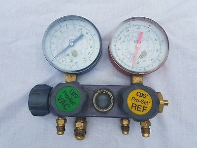 CPS pro-set vac Refrigeration manifold gauge cps clocks