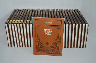 Time-Life Books Inc. The Old West Series Complete 26 Volume Set W/ Master Index