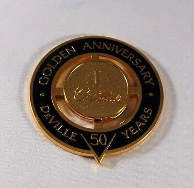 Golden Anniversary Cadillac Heritage of Ownership Badge