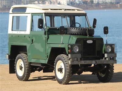 SIII -- 1978 Land rover SIII  42,000 Original Miles Excellent Condition Safari Roof